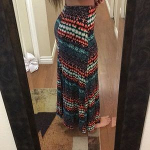Skirts - Colorful maxi skirt